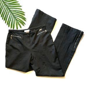 ST JOHN SPORT flare high-waisted vintage slacks 8